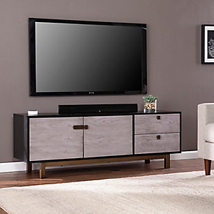 Southern Enterprises Glenn Media Console with Storage, , rollover