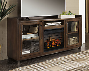 "Starmore 70"" TV Stand with Electric Fireplace, , rollover"