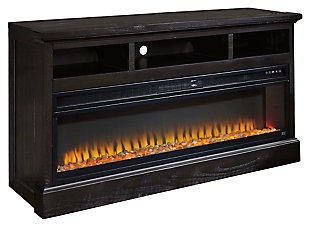 Sharlowe 63 Tv Stand With Fireplace Ashley Furniture Homestore