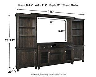 Townser 4 Piece Entertainment Center Ashley Furniture Homestore