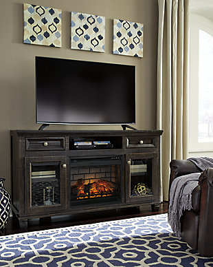 """Townser 62"""" TV Stand with Electric Fireplace, , large"""