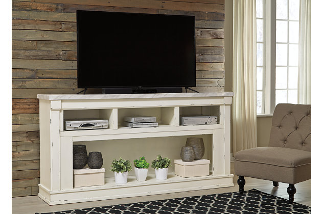 """Becklyn 74"""" TV Stand, , large"""