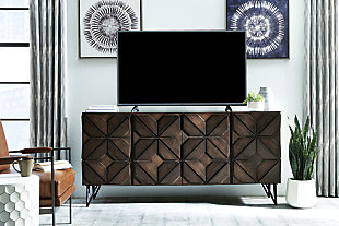 """Chasinfield 72"""" TV Stand, , large"""