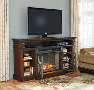 Enjoy the cozy feel of a cracklin' fireplace without the hassle