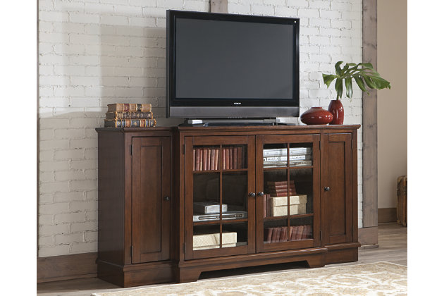 """Hodgenville 72"""" TV Stand by Ashley HomeStore, Brown"""