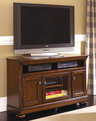"Porter 50"" TV Stand, Rustic Brown, rollover"