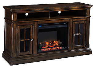 "Roddinton 60"" TV Stand with Electric Fireplace, , large"