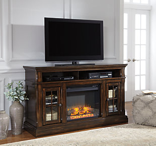 "Roddinton 60"" TV Stand with Electric Fireplace, , rollover"