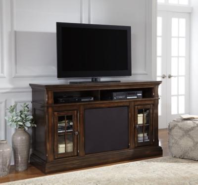 "Roddinton 60"" TV Stand with Wireless Pairing Speaker, , large"
