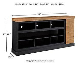 """Tonnari 74"""" TV Stand, , large"""