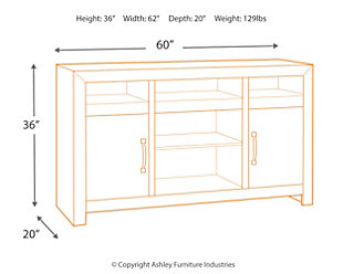 "Mayflyn 62"" TV Stand, , large"