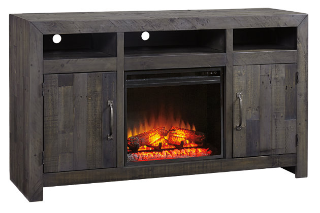 "Mayflyn 62"" TV Stand with Electric Fireplace, , large"