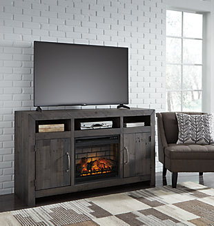 "Mayflyn 62"" TV Stand with Electric Fireplace, , rollover"