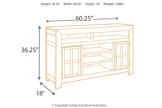 "Gavelston 61"" TV Stand, , large"