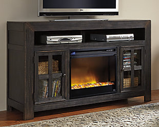 "Gavelston 60"" TV Stand with Electric Fireplace, , rollover"