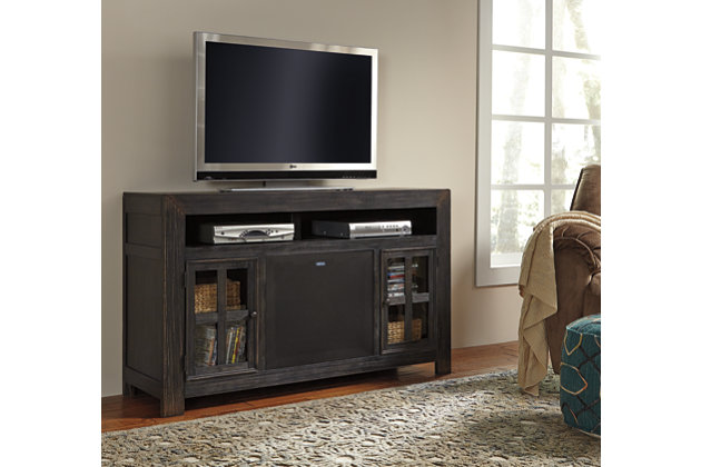 "Gavelston 60"" TV Stand with Wireless Pairing Speaker, , large"