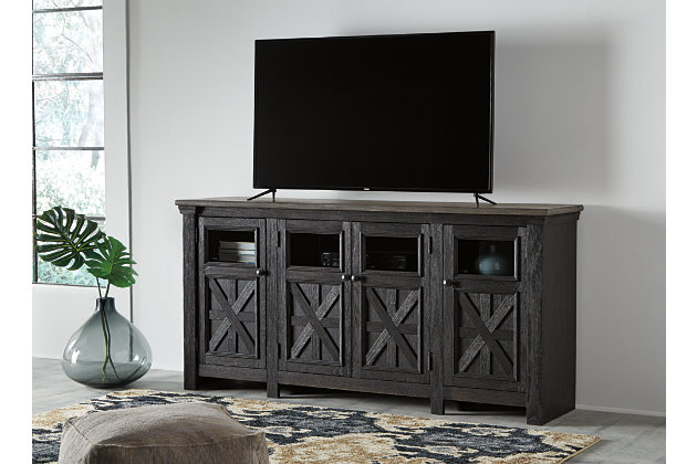 Tyler Creek 74 Quot Tv Stand Ashley Furniture Homestore