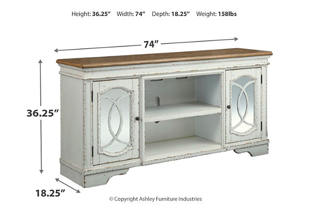 "Realyn 74"" TV Stand, , large"