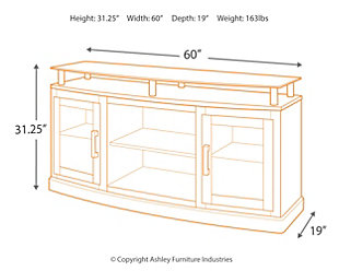 """Chanceen 60"""" TV Stand, , large"""
