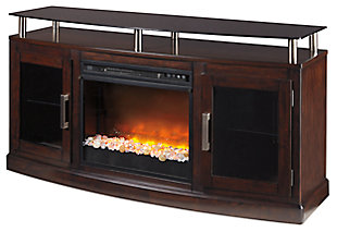 Chanceen TV Stand with Fireplace, , large