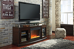 "Chanceen 60"" TV Stand with Electric Fireplace, , rollover"