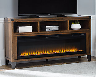 """Royard 65"""" TV Stand with Electric Fireplace, , rollover"""