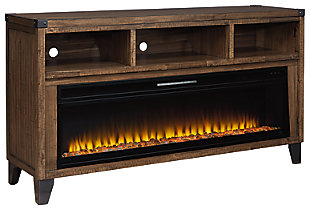 """Royard 65"""" TV Stand with Electric Fireplace, , large"""