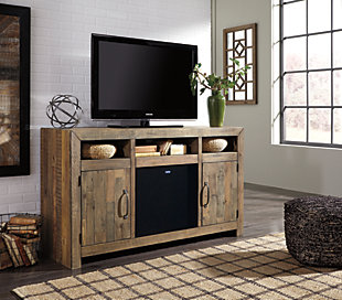 "Sommerford 62"" TV Stand with Wireless Pairing Speaker, , rollover"
