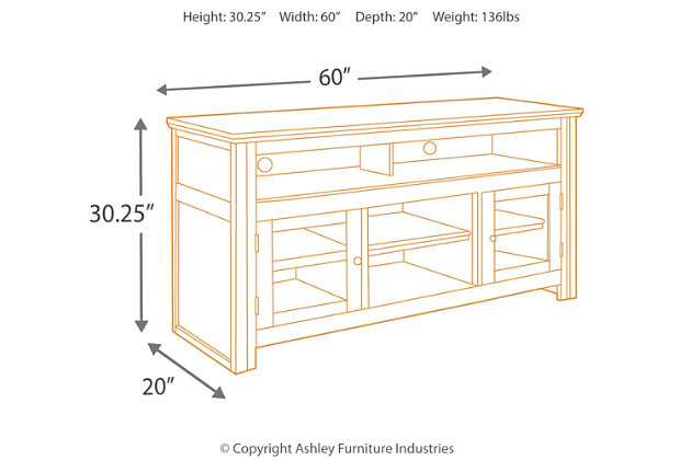"Harpan 60"" TV Stand, , large"