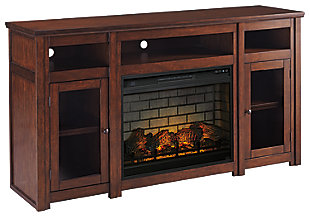 "Harpan 72"" TV Stand with Electric Fireplace, , large"
