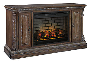 "Charmond 64"" TV Stand with Electric Fireplace, , large"