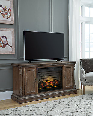 "Charmond 69"" TV Stand with Electric Fireplace, , rollover"