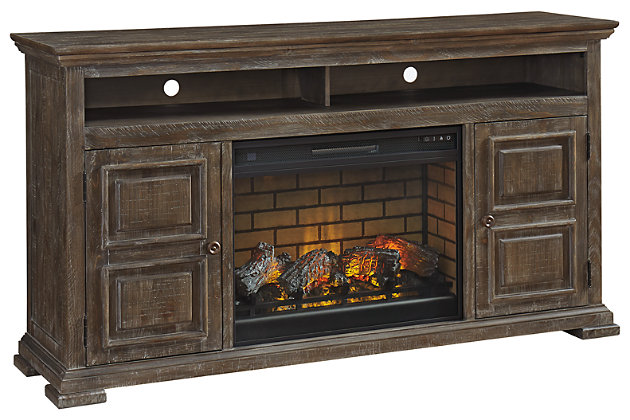 "Wyndahl 72"" TV Stand with Electric Fireplace, , large"
