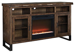 "Esmarina 62"" TV Stand with Electric Fireplace , , large"