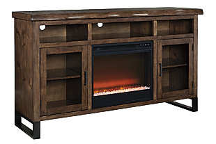 "Esmarina 62"" TV Stand with Fireplace , , large"