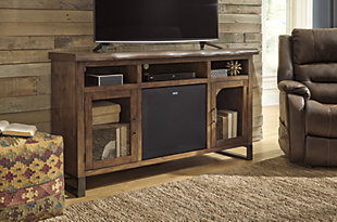 "Esmarina 62"" TV Stand with Wireless Pairing Speaker, , large"