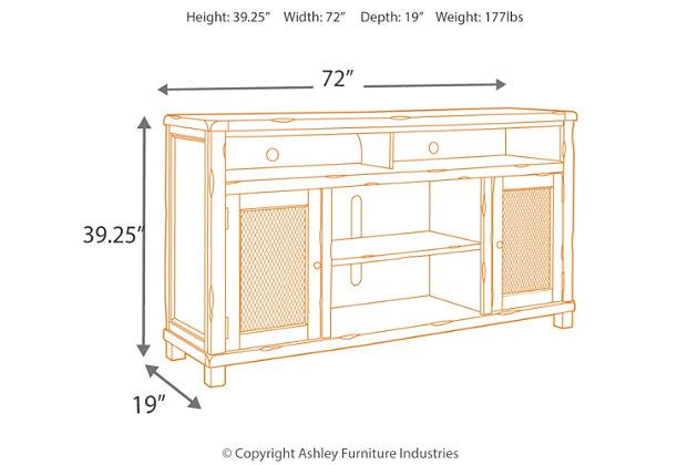 "Tamonie 72"" TV Stand, , large"