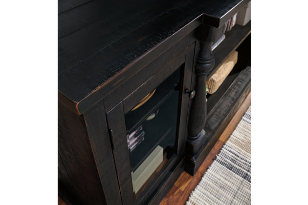 """Mallacar 75"""" TV Stand with Electric Fireplace, , large"""