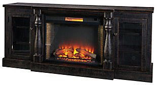 Mallacar TV Stand with Fireplace, , large