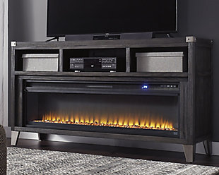 "Todoe 65"" TV Stand with Electric Fireplace, , rollover"