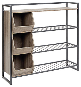 Maccenet Shoe Rack, , large