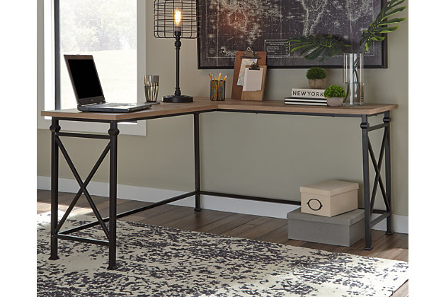Jaeparli Home Office L-Desk, , large