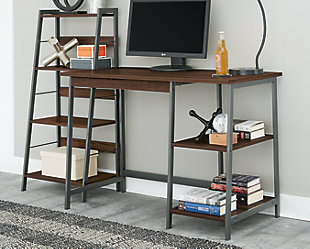 Soho Home Office Desk with Shelf, , rollover